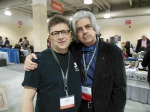 Richard Peabody and Michael Martone