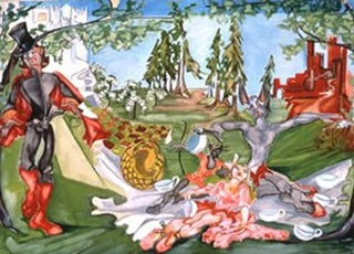One of Zelda Fitzgerald's paintings