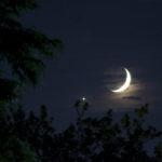 Photo of Moon and Venus by NASA/Bill Dunford