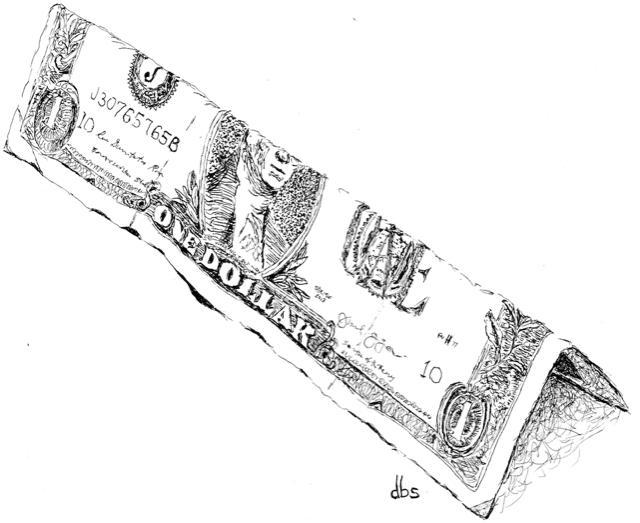 The One Dollar by David B. Such