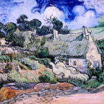 """""""IMG_7554 Vincent Van Gogh. 1853-1890. Paris. Chaumes de Cordeville à Auvers sur Oise. 1890. Paris Orsay."""" by jean louis mazieres is licensed under CC BY-NC-SA 2.0"""